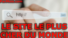Le site internet le plus cher du monde
